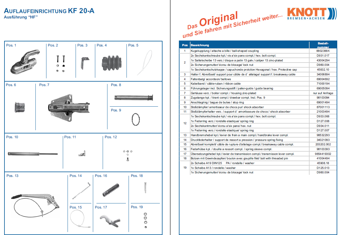 Knott KF 20-A
